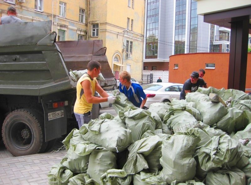 Вывоз строительного мусора Киев
