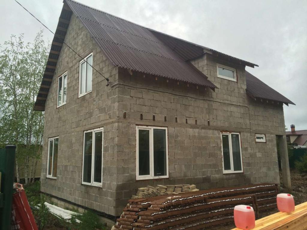Дом из бетонных блоков - особенности и преимущества